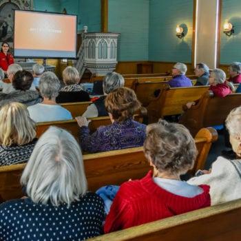 Vesterheim Norwegian-American Museum honors volunteers at a special volunteer event in 2018.