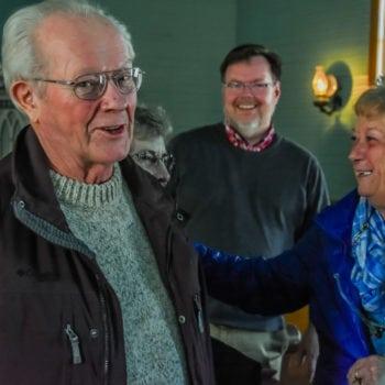 Vesterheim Norwegian-American Museum honors volunteers like Jerry Aulwes at a special volunteer event in 2018.