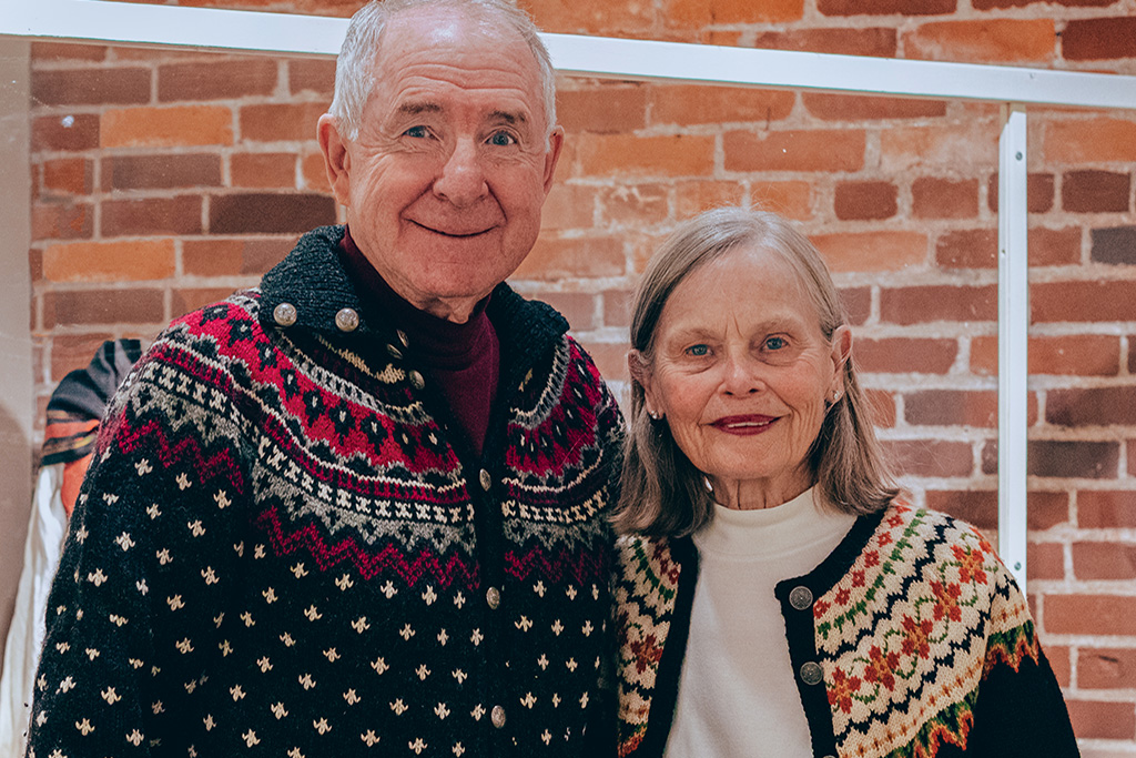 """Supporters like Dick and Joann Hemp highlighted their """"Favorite Things"""" about Vesterheim for #GivingTuesday 2019."""