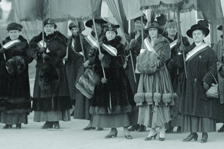 The Struggle For Woman Suffrage In Nordic America