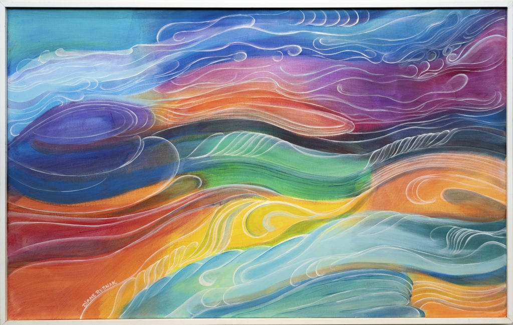 Diane Rusnak painting