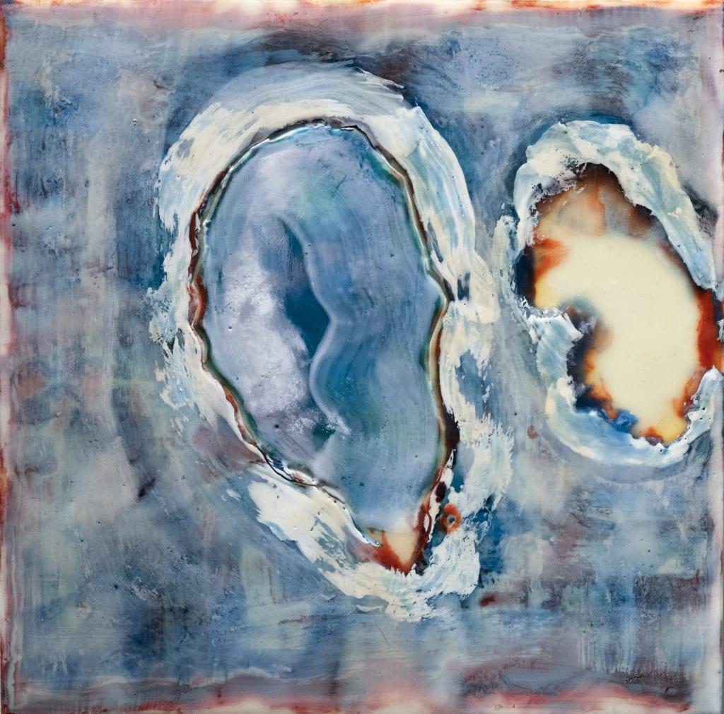 Joan Ross painting