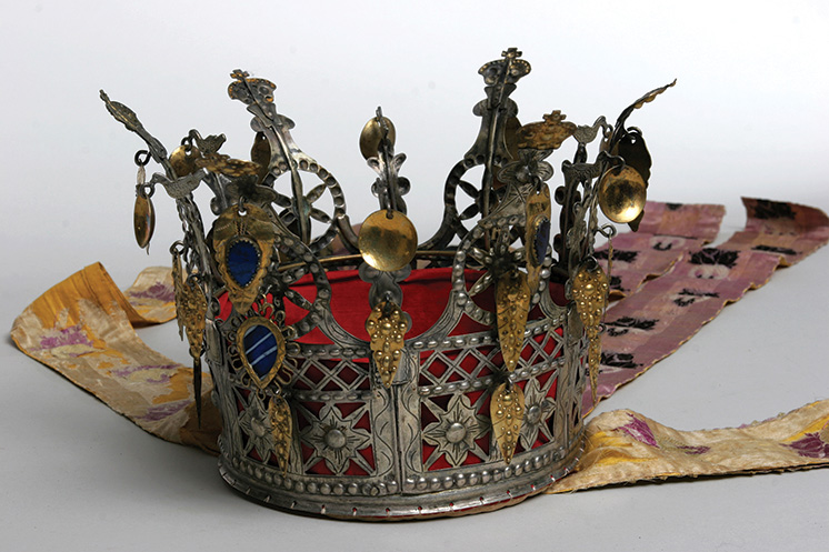 Norwegian Bridal Crown from Vesterheim collections